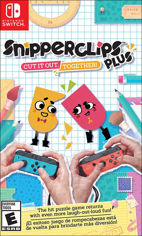 Snipperclips Plus: Cut it out, Together!