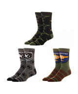 Call of Duty 3 Pair Logo Crew Socks