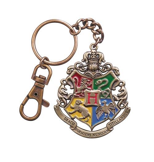 Harry Potter Hogwarts Crest Keychain