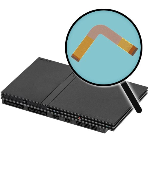 PlayStation 2 Slim Model 7000x Repairs: Laser Ribbon Replacement Service
