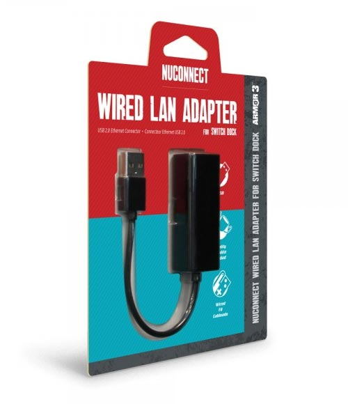 Nintendo Switch NuConnect Wired LAN Adapter