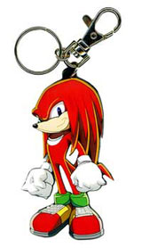 Sonic X Knuckles Keychain