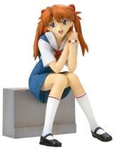 Neon Genesis Evangelion Asuka Langley School Uniform PVC Statue