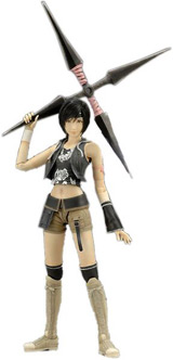 Final Fantasy VII Advent Children Play Arts Volume 2 Yuffie Kisaragi Action Figure