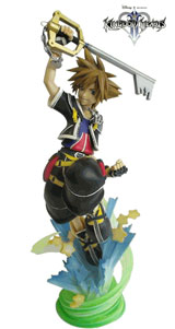 Kingdom Hearts Static Arts Sora 12 inch PVC Statue