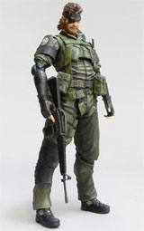 Metal Gear Solid: Peace Walker Play Arts Kai Snake Action Figure (Jungle Version)