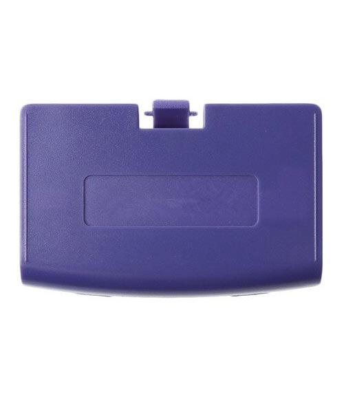 GameBoy Advance Replacement Purple Battery Cover