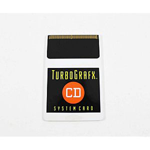 TurboGrafx CD System Card 2.0
