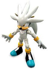 Buy Merchandise Sonic The Hedgehog Silver 3 Inch Action Figure Estarland Com