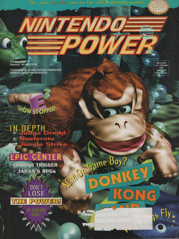 Nintendo Power Magazine Volume 74 Donkey Kong Land