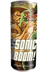 Street Fighter Sonic Boom Energy Drink