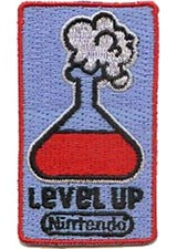 Nintendo Level Up Potion Patch