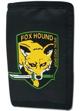 Metal Gear Solid Fox Hound Emblem Tri-Fold Wallet