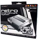 Retro Entertainment NES System Silver/Black