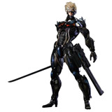 Metal Gear Rising: Revengeance Play Arts Kai Raiden Action Figure