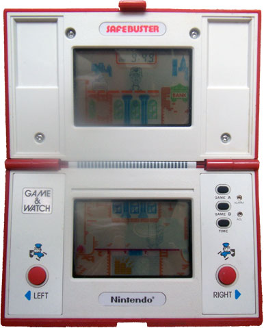 Game & Watch Multi-Screen Series: Safebuster