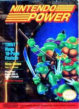 Nintendo Power Volume 6 Teenage Murtant Ninja Turtles