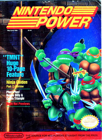 Nintendo Power Volume 6 Teenage Murtant Ninja Turtles