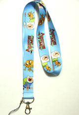 Adventure Time: Jake and Finn Lanyard