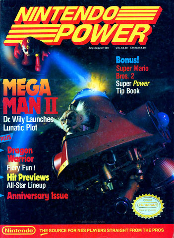 Nintendo Power Volume 7 Mega Man II
