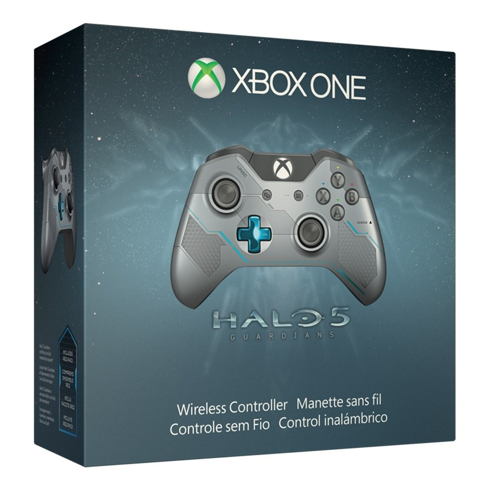 Xbox One Limited Edition Halo 5: Guardians Spartan Locke Wireless Controller