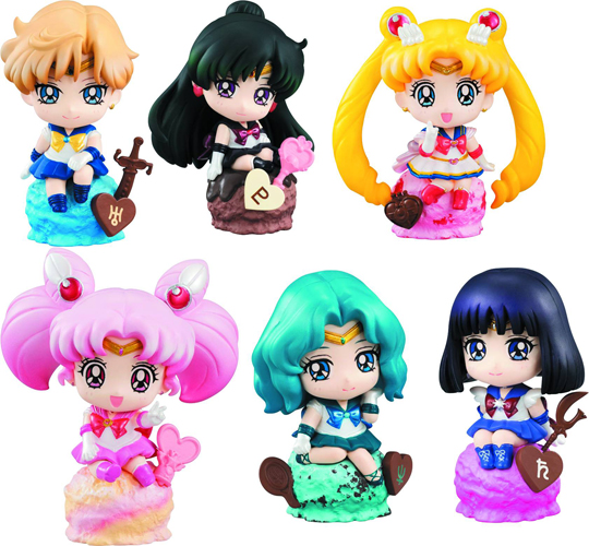 Sailor Moon Petit Chara Ice Cream Party Version