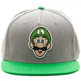 Super Mario Luigi Grey and Green Snapback