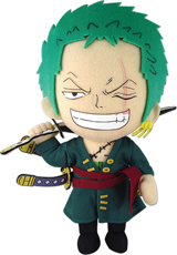 One Piece Roronora Zoro 8 Inch Plush
