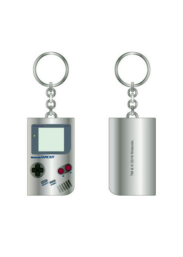 Nintendo Game Boy Metal Keychain