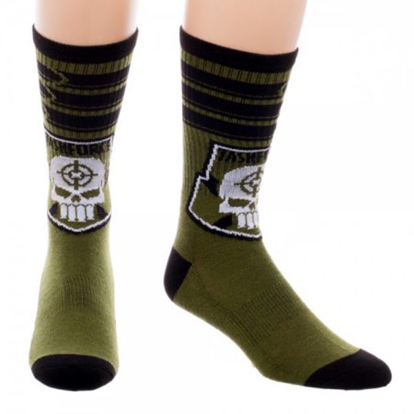 Suicide Squad Taskforce X Crew Socks