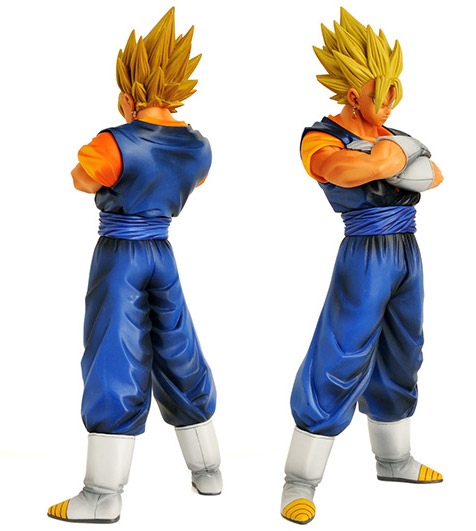 front and back of Dragon Ball Z Vegito Manga Dimensions 10 Inch Figure
