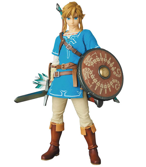 Legend of Zelda Breath of the Wild Link Real Action Heroes Figure