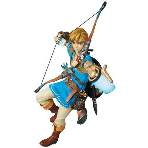 Zelda Breath of the Wild Link RAH Fig 1