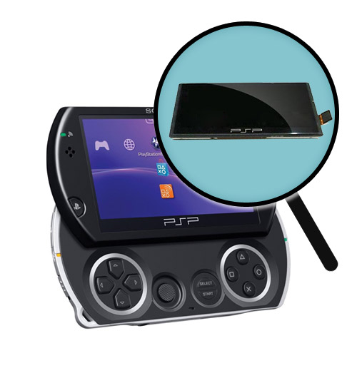 Sony PSP Go Repairs: LCD Screen Replacement Service