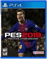 PS4 Pro Evolution Soccer 2019 PES boxart