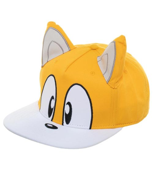 Buy Merchandise Sonic The Hedgehog Tails Big Face Snapback Estarland Com