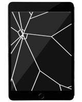 iPad Mini 5 Repairs: Glass & LCD Assembly Replacement Service Black