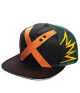 My Hero Academia Bakugo Suit Up Snapback Hat