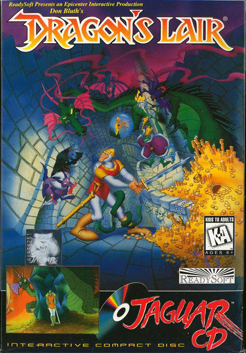 Dragon's Lair Jaguar CD