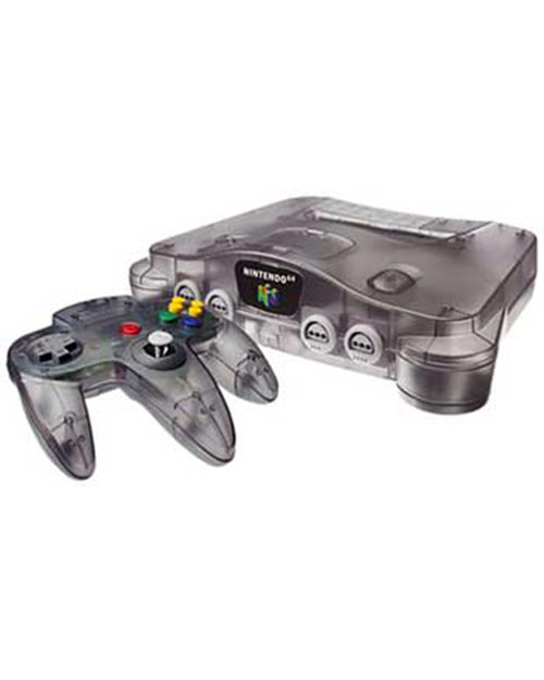 Nintendo 64 Funtastic Series Smoke Grey System