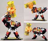 King of Braves: GaoGaiGar Goldion Hammer Action Figure