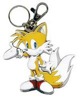 Sonic X Tails Die Cut Keychain