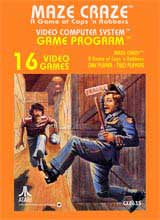 Maze Craze: A Game of Cops 'n Robbers (Atari)