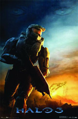 Halo 3 Master Chief At Dawn Poster