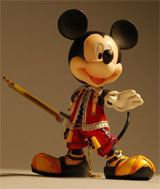 Kingdom Hearts 2 Play Arts King Mickey Action Figure