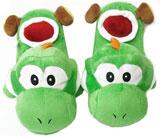 Super Mario Bros Yoshi Slippers