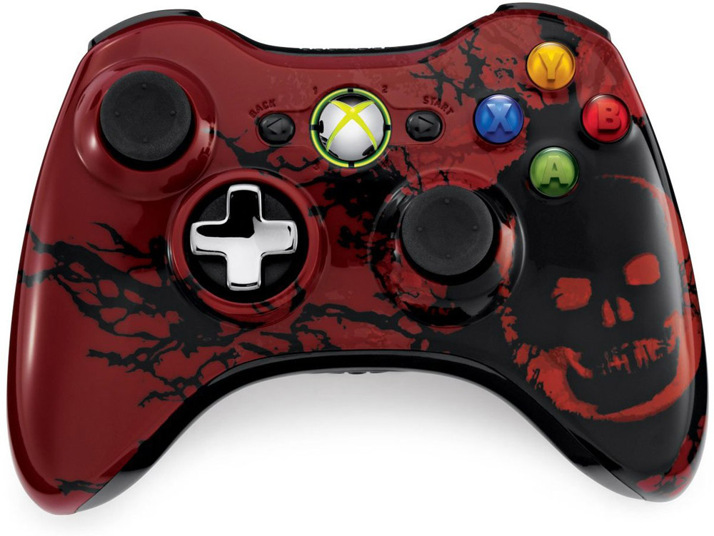 Xbox 360 Gears of War 3 Limited Edition Wireless Controller