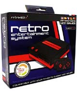 Retro Entertainment NES System Black/Red