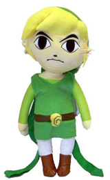 Legend of Zelda Spirit Tracks Link 18 Inch Plush Backpack