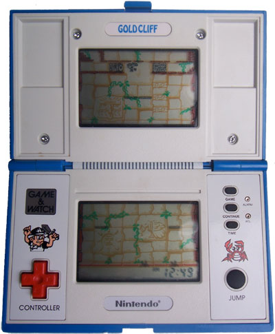 Game & Watch Multi-Screen Series: Gold Cliff